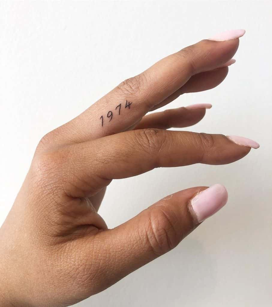 finger tattoo picture 45