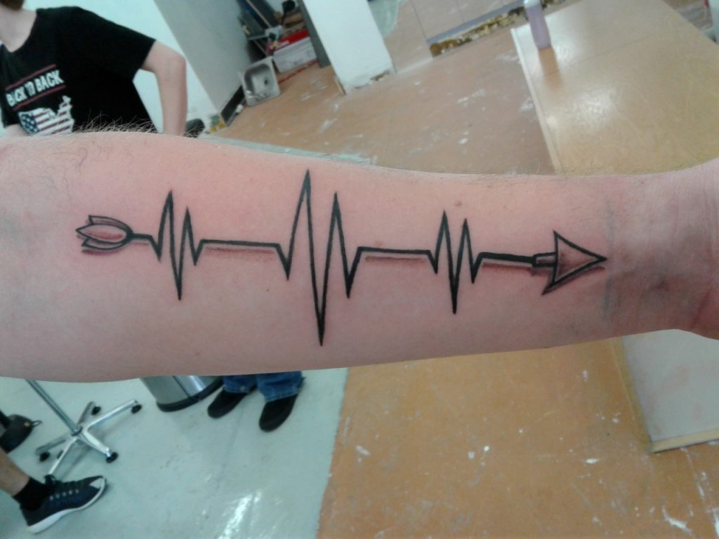 heartbeat tattoo picture 49 1