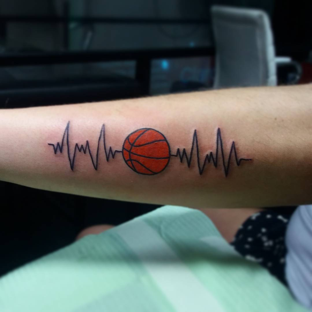 Heartbeat tattoo picture