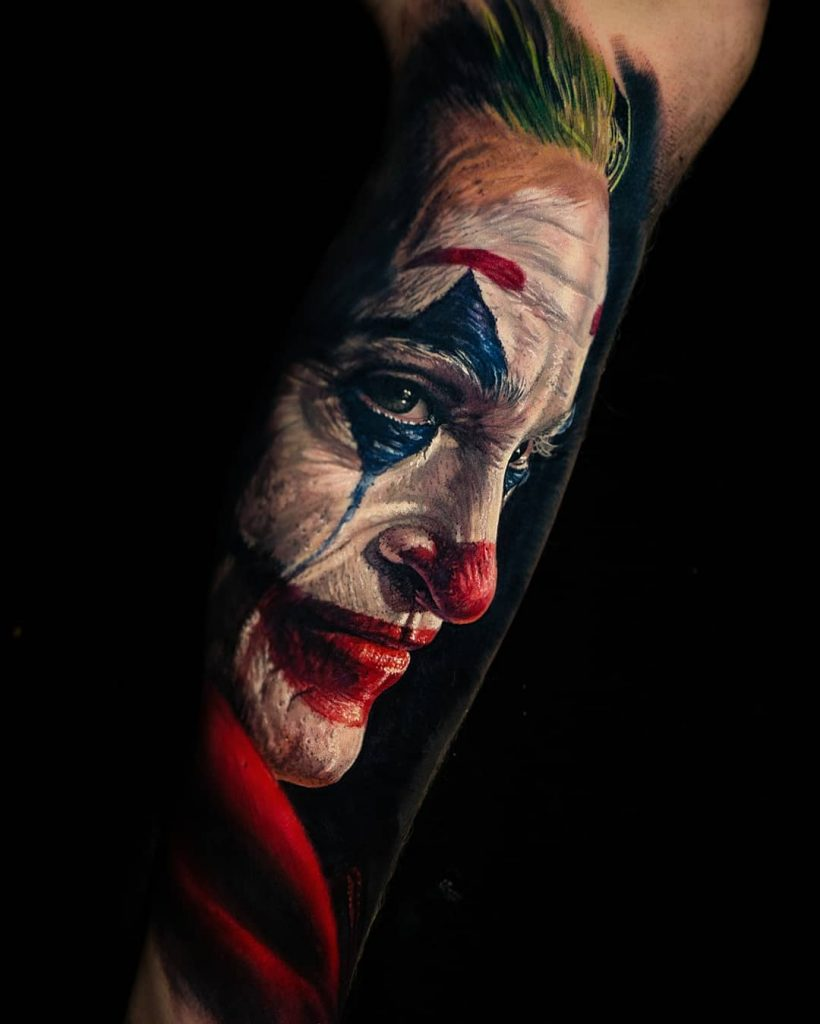 joker tattoo design 1