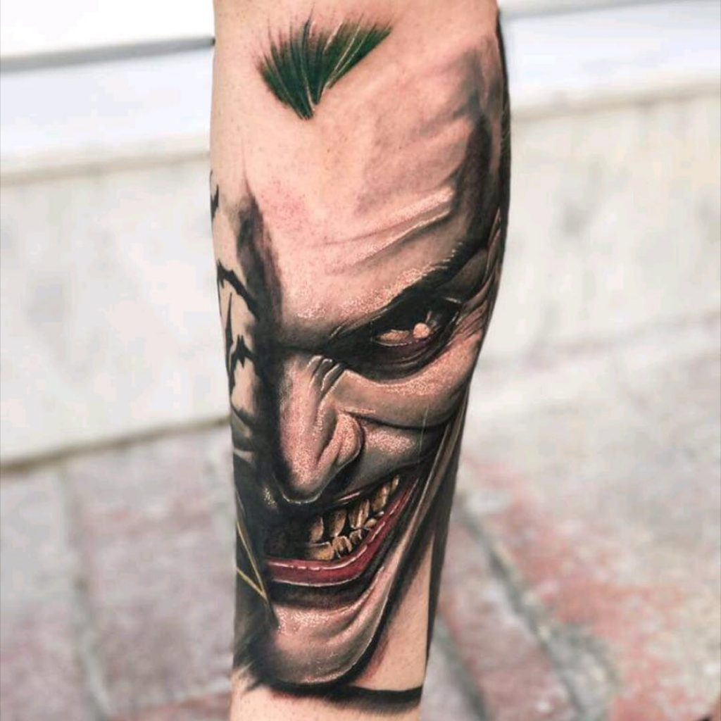 joker tattoo design 2