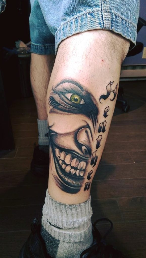 joker tattoo design 7