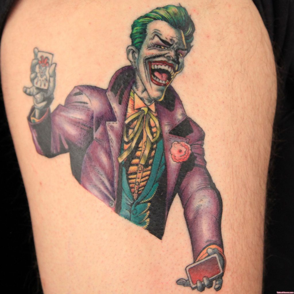 joker tattoo ideas 11