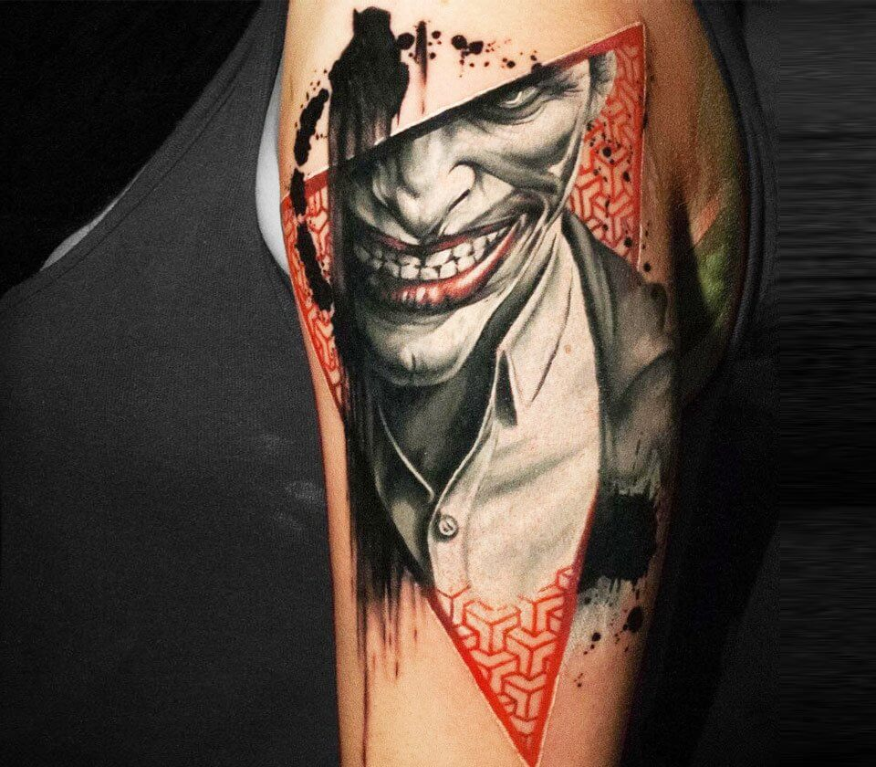 joker tattoo ideas 13