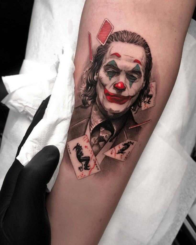 joker tattoo ideas 14