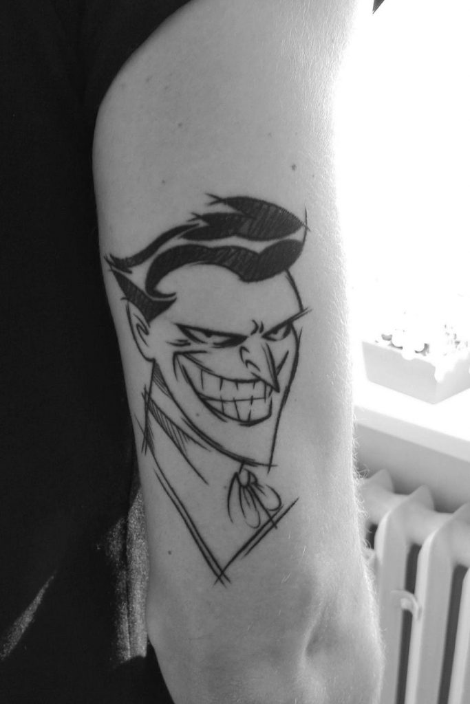 joker tattoo ideas 16