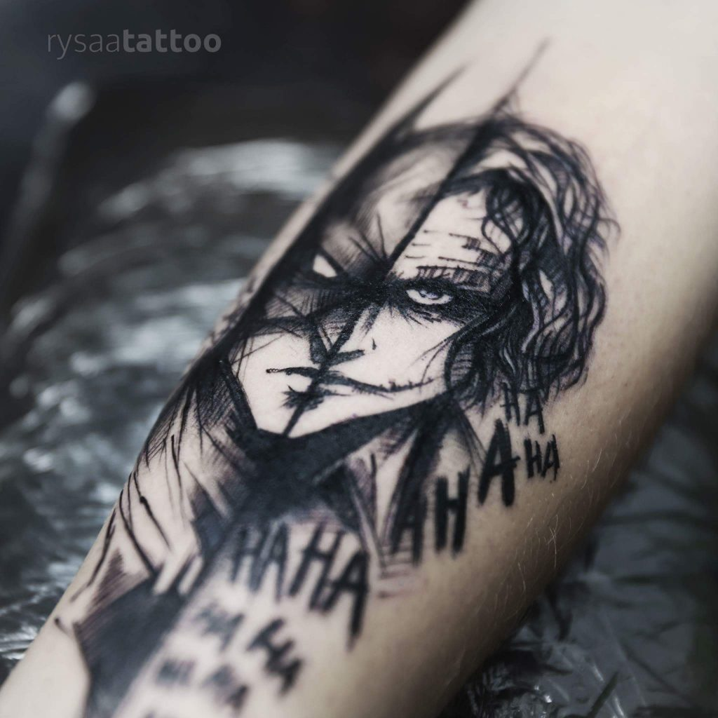 joker tattoo image 21