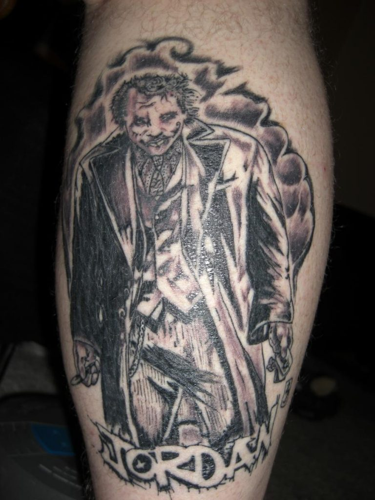 joker tattoo image 23