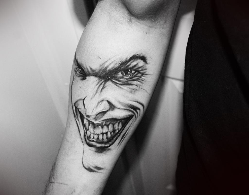 joker tattoo image 26
