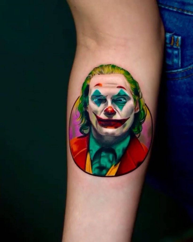 joker tattoo image 27