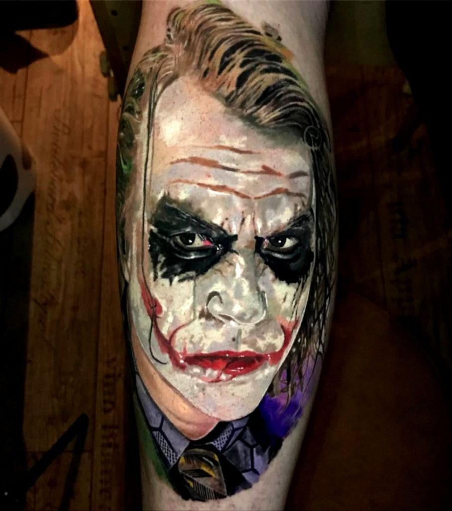 joker tattoo image 28