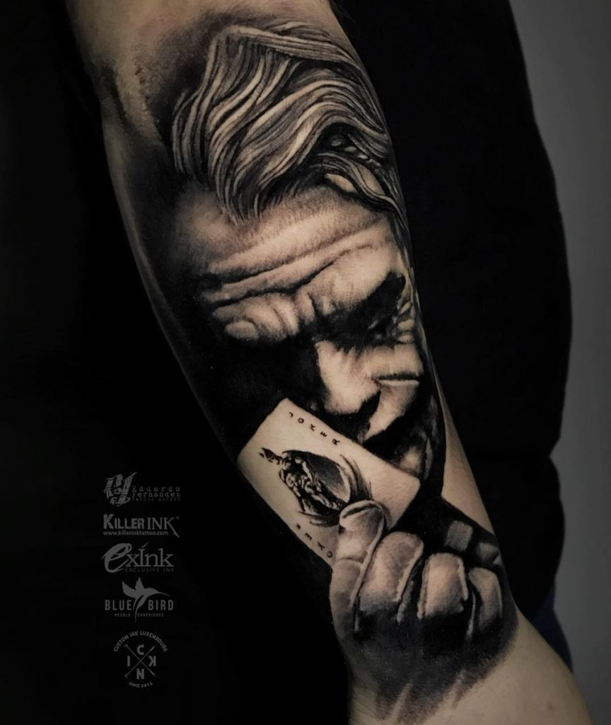 joker tattoo photo 32