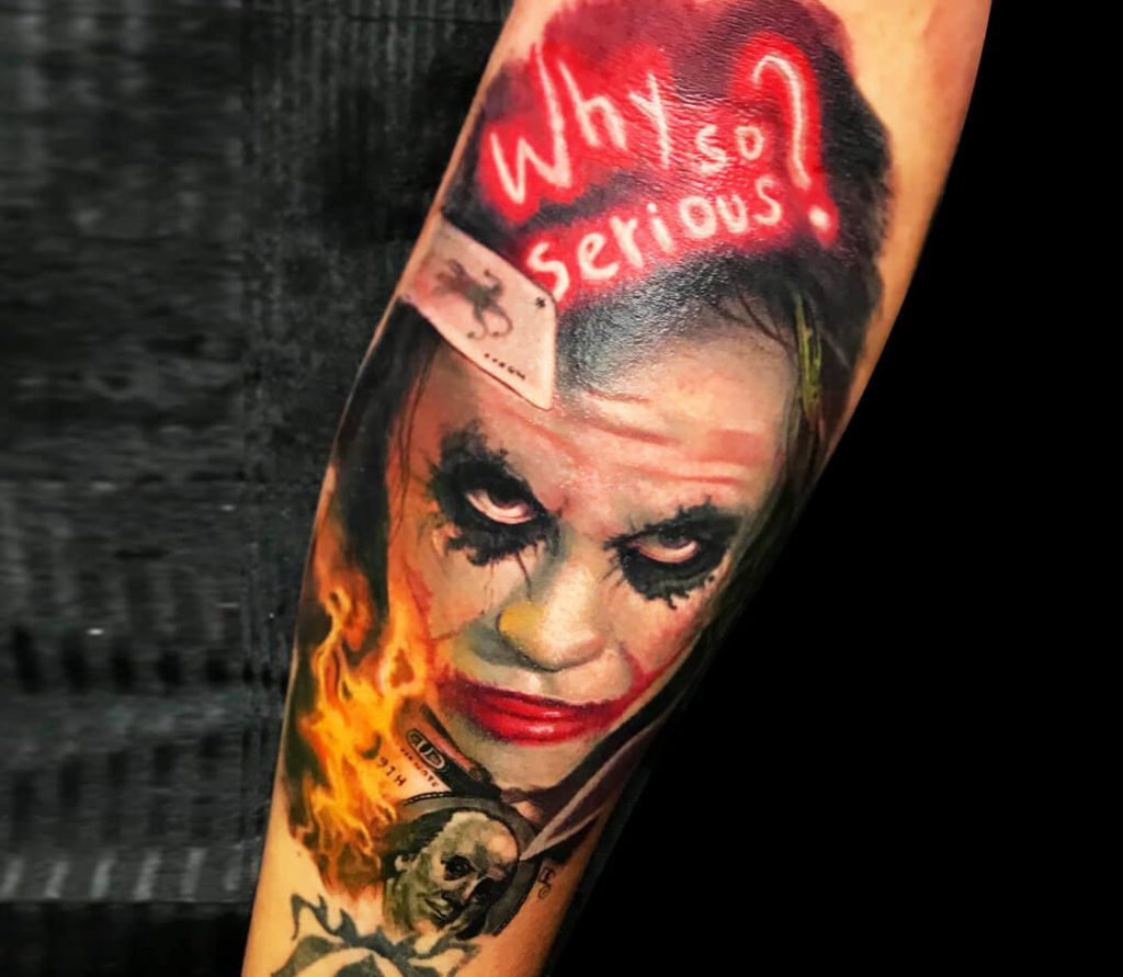 joker tattoo photo 34