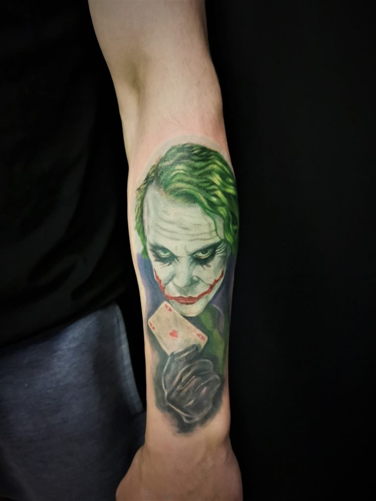 joker tattoo photo 35