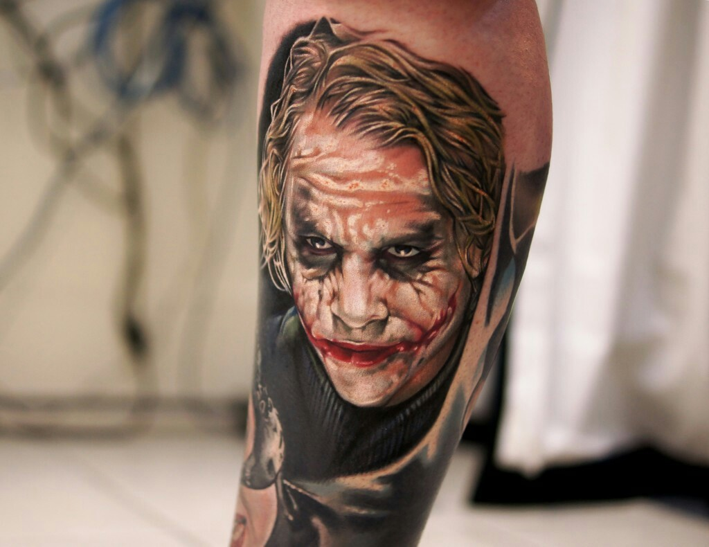 joker tattoo photo 37
