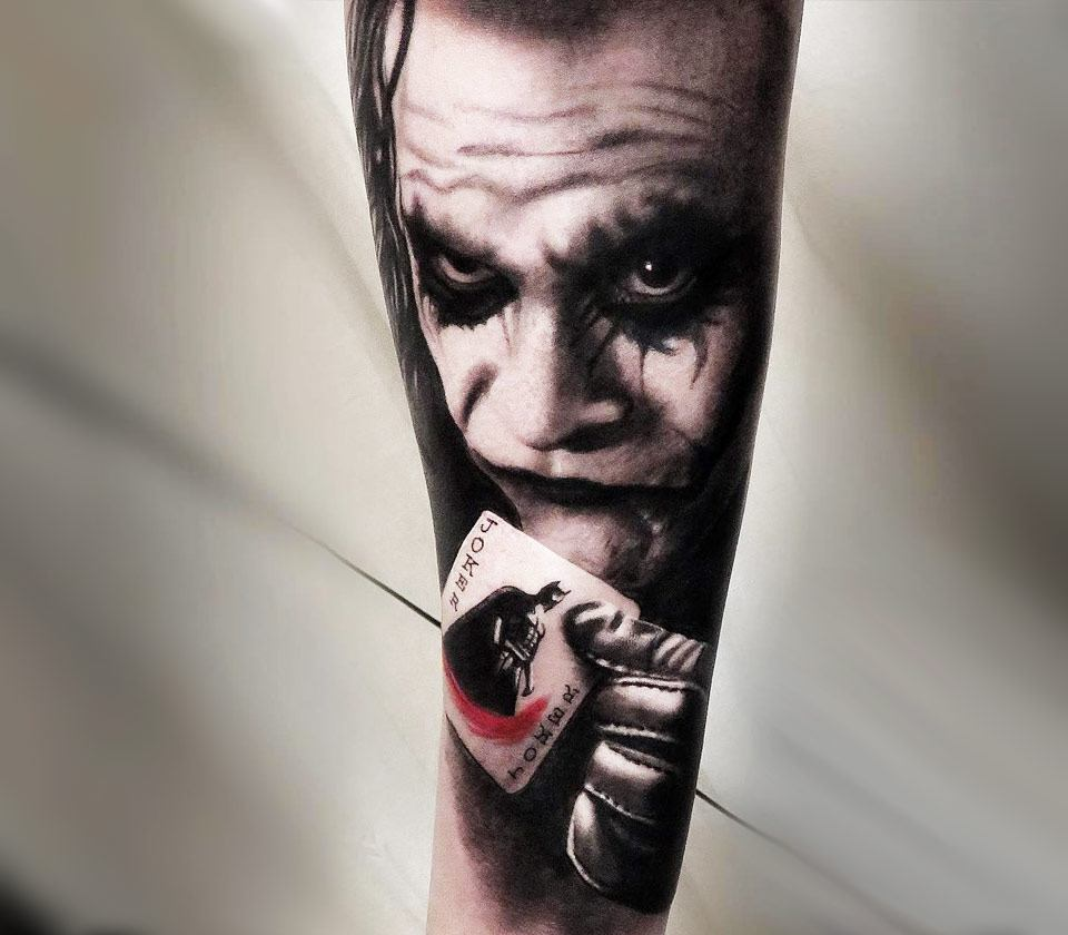 joker tattoo picture 41