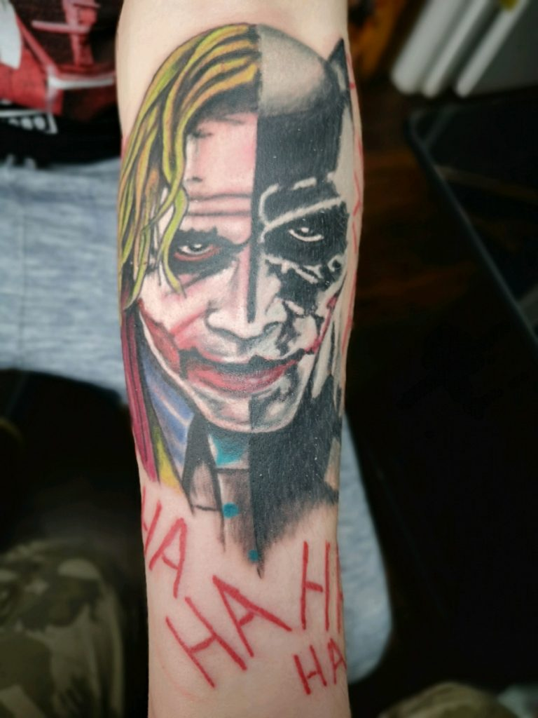 joker tattoo picture 42