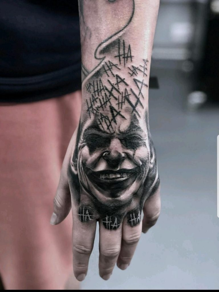 joker tattoo picture 43