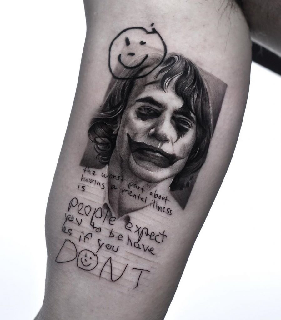 joker tattoo picture 47