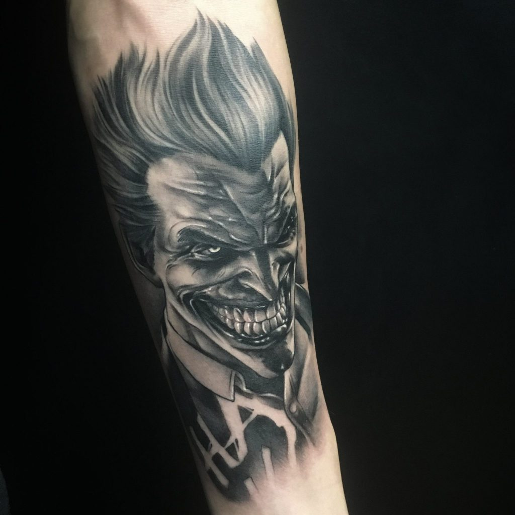joker tattoo picture 48