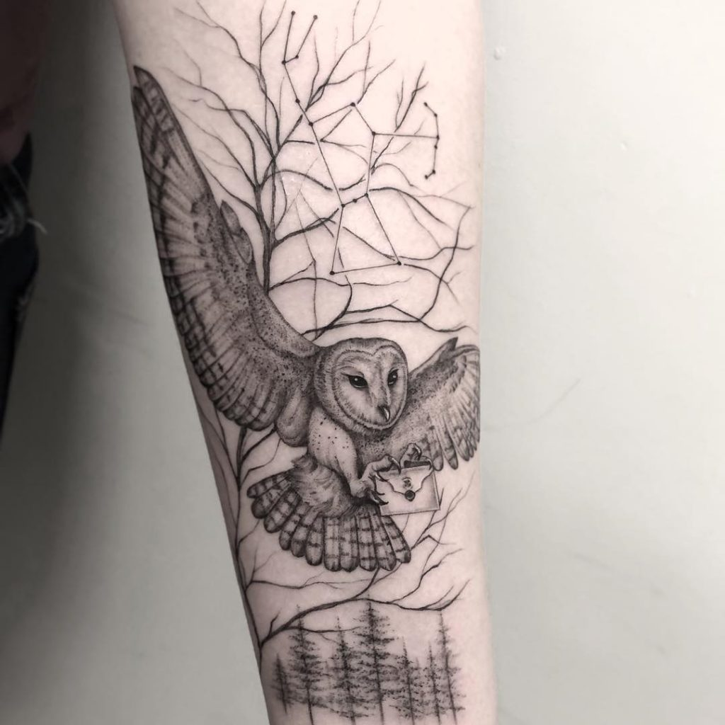 owl tattoo picture 47 1