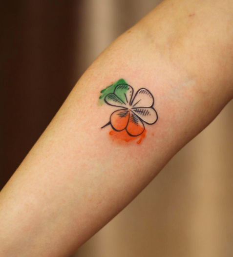 shamrock tattoo picture 49
