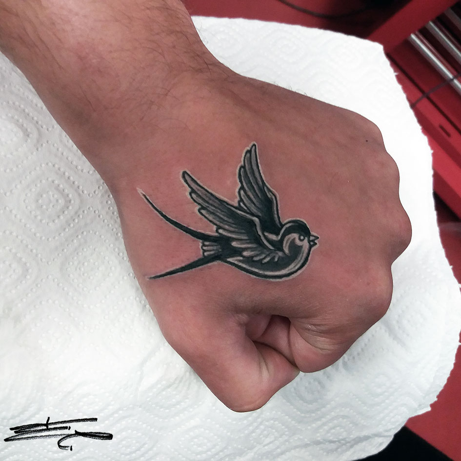 swallow tattoo design 3