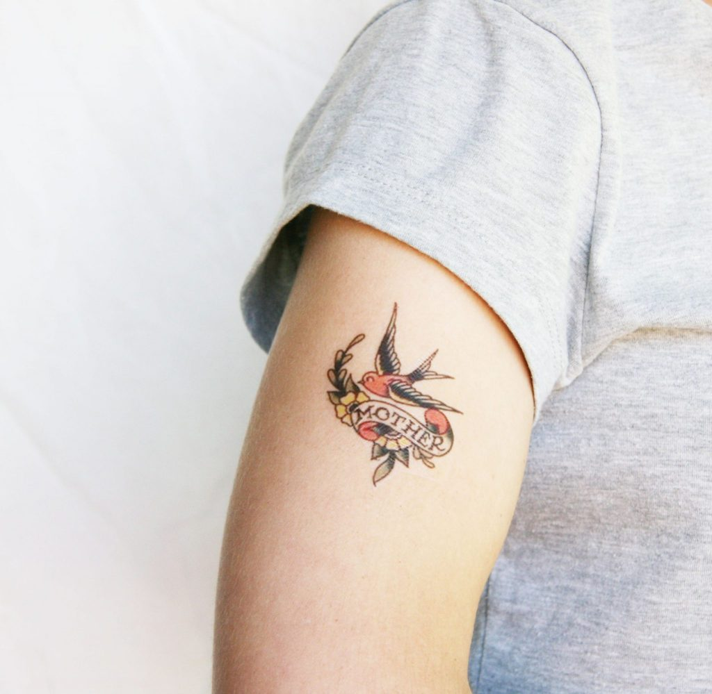 swallow tattoo photo 36