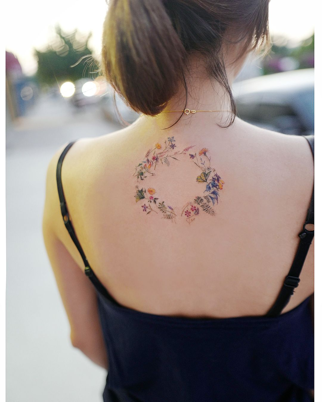 Tattoo on back picture