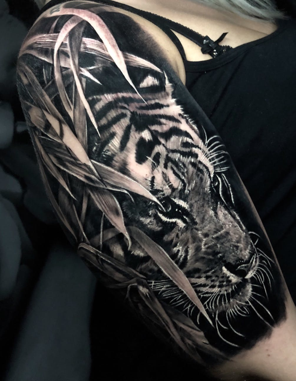 Tiger tattoo picture