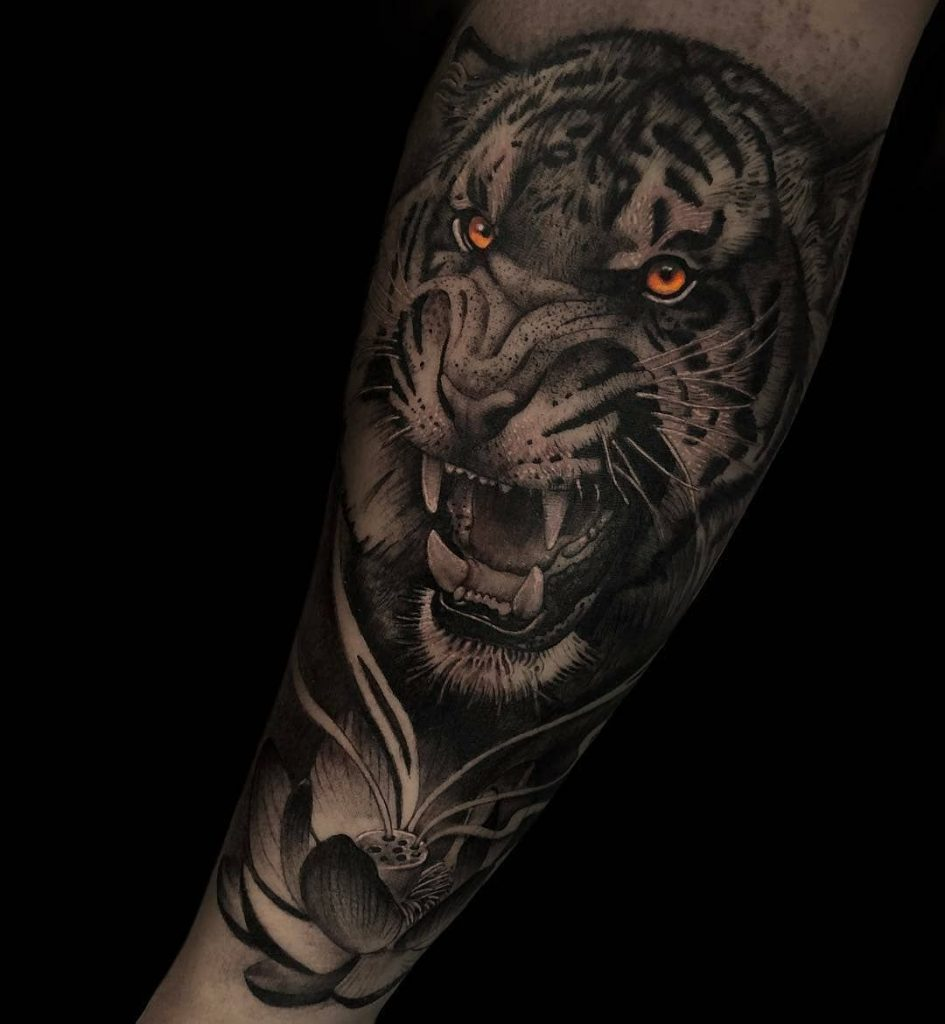 tiger tattoo picture 49