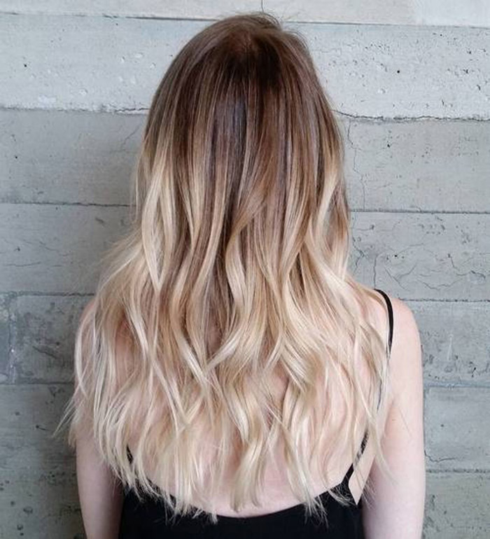 Best brown to blonde ombre hair