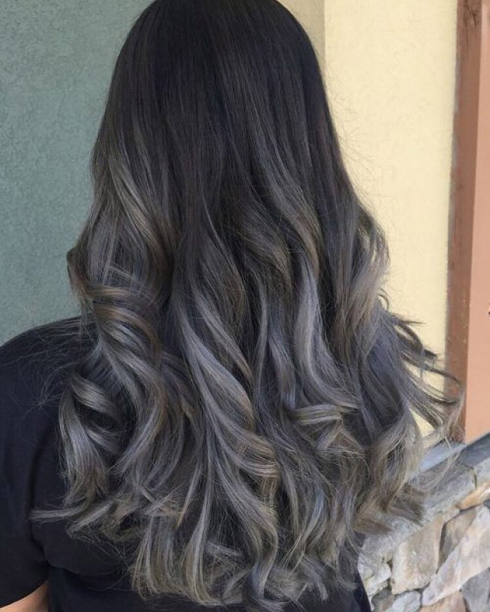 black to grey ombre 1