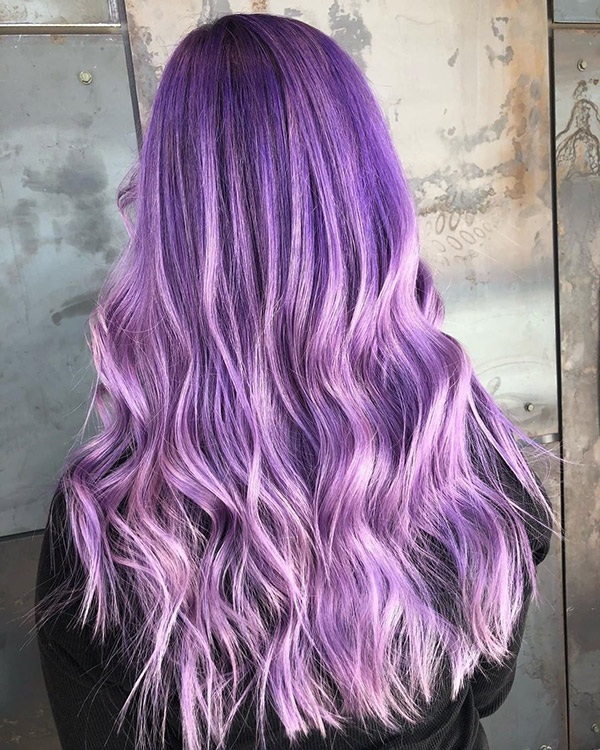 Best purple hair color