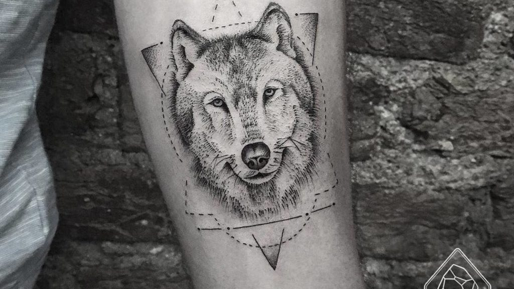 wolf tattoo ideas 13