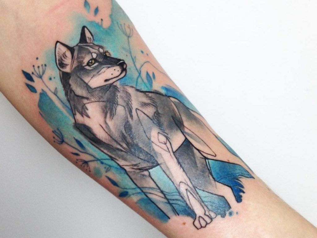 wolf tattoo ideas 20
