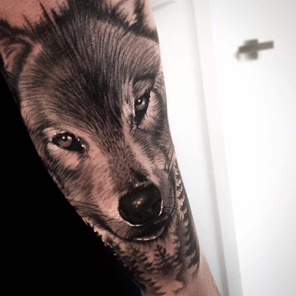 wolf tattoo image 21