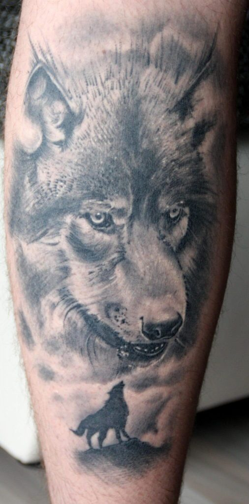 wolf tattoo image 26