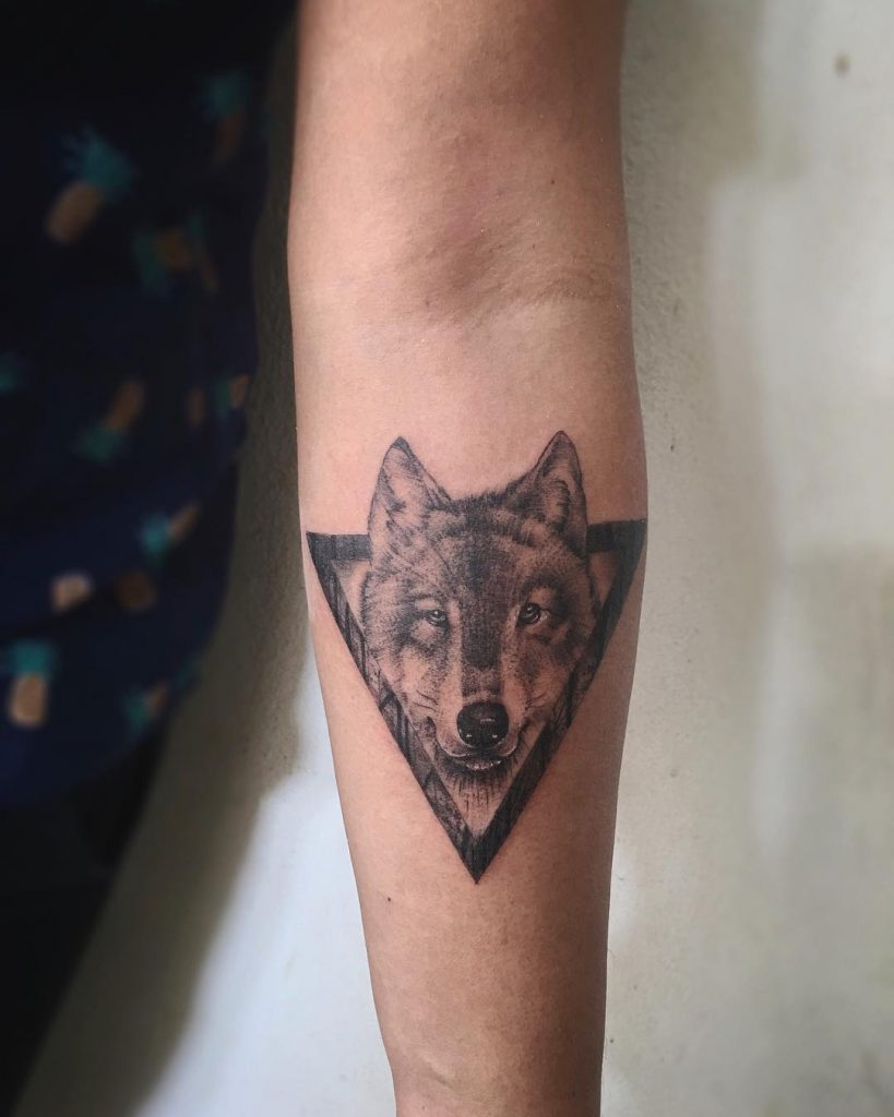 wolf tattoo photo 31