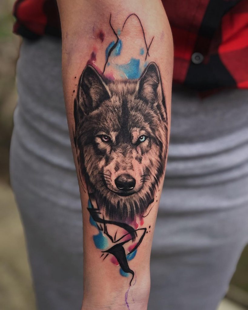 wolf tattoo photo 33