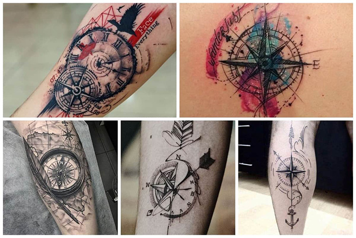 compass tattoo picture 45