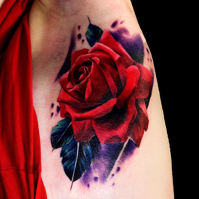 rose tattoo picture 49