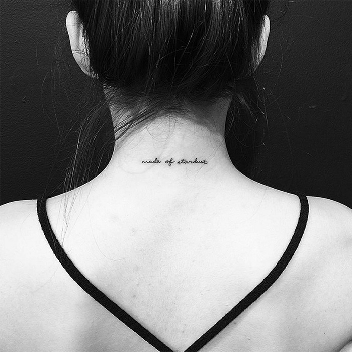 Small tattoo picture