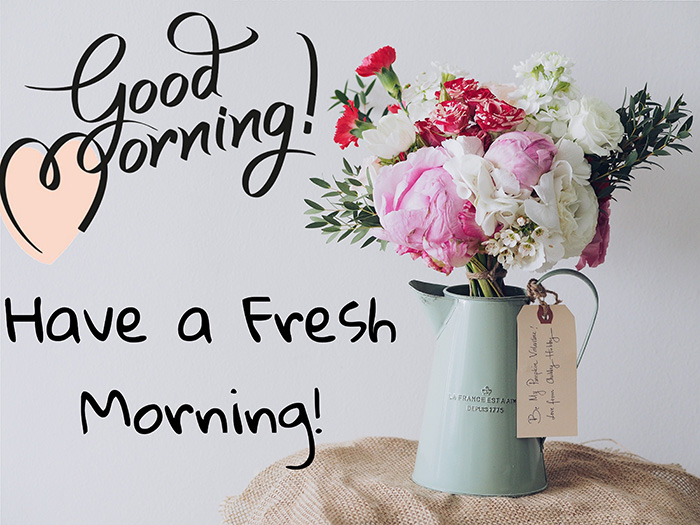 good morning have a fresh morning