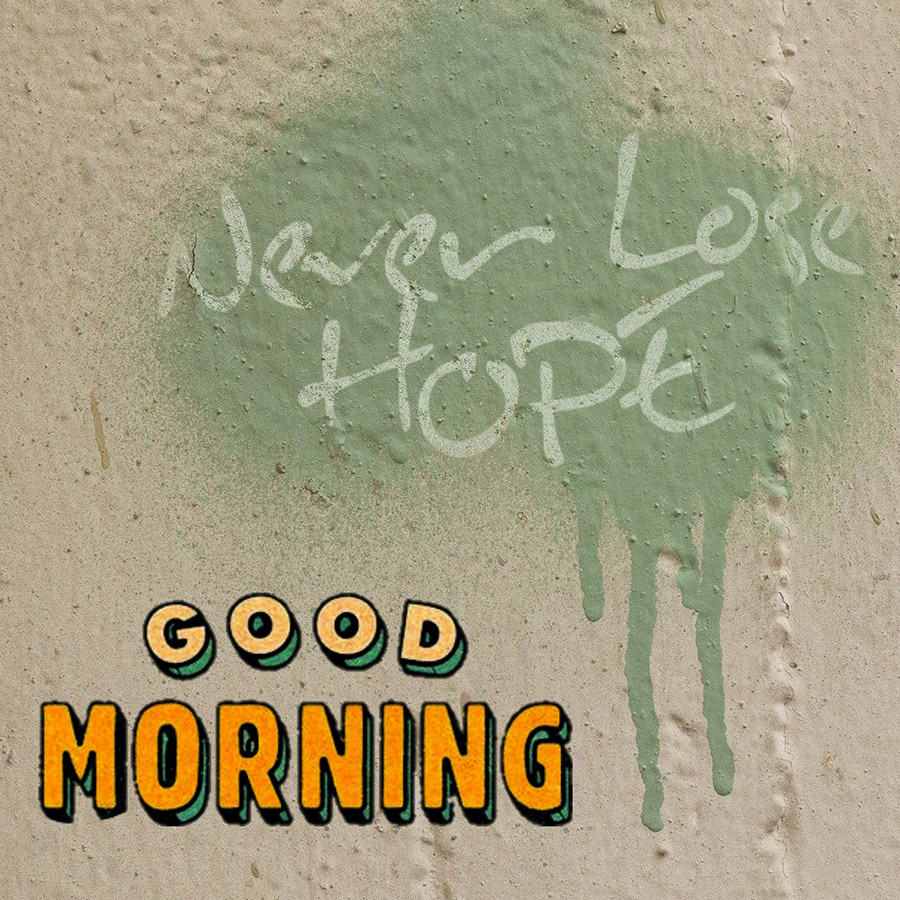 Good morning friend image with wishing text