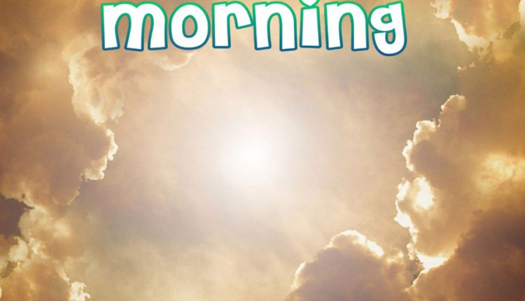 good-morning-image-with-sun-and-clouds