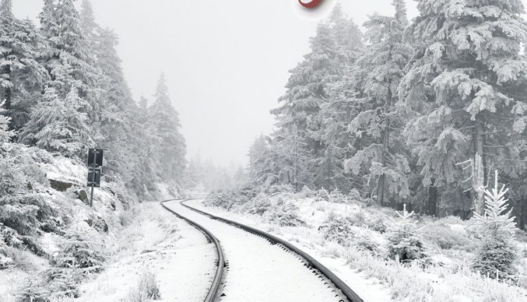 good-morning-image-with-railway-in-winter